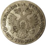 3 Kreuzer - Franz II -  reverse