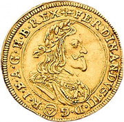1 Ducat - Ferdinand III (Vienna) -  obverse