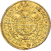 1 Ducat - Ferdinand III (Vienna) -  reverse