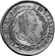 5 Kreuzer - Maria Theresia (Vienna) -  obverse