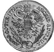 5 Kreuzer - Maria Theresia (Vienna) -  reverse