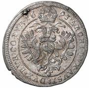 3 Kreuzer - Leopold I (Vienna) -  reverse