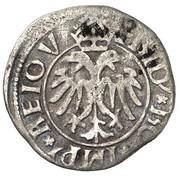 1 Kreuzer - Friedrich III (Vienna) – obverse
