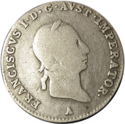 3 Kreuzer - Franz II -  obverse