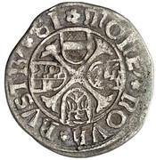 1 Kreuzer - Friedrich III (Vienna) -  reverse