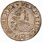 3 Kreuzer - Ferdinand II (Vienna) -  obverse