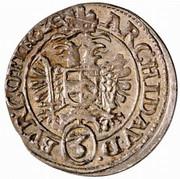 3 Kreuzer - Ferdinand II (Vienna) -  reverse
