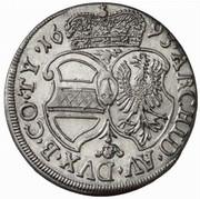 6 Kreuzer - Leopold I (Hall) -  reverse