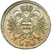 2 Kreuzer - Karl VI -  obverse