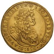 6 Ducat - Leopold I (Graz) -  obverse