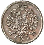 1 Kreuzer - Karl VI -  obverse