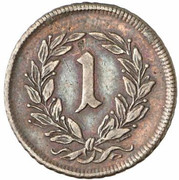 1 Kreuzer - Karl VI -  reverse