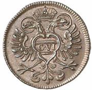 2 Pfennig - Karl VI -  obverse