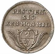 2 Pfennig - Karl VI -  reverse