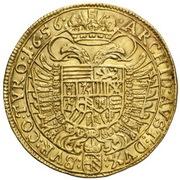 2 Ducat - Ferdinand III (Vienna) -  reverse