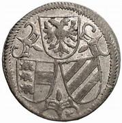 2 Pfennig - Ferdinand II (Klagenfurt) -  obverse