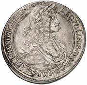 ½ Thaler - Leopold I (Graz) -  obverse