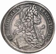 1 Thaler - Leopold I (Graz) -  obverse