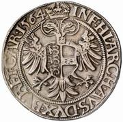 1 Guldenthaler - 60 Kreuzer - Ferdinand I (Klagenfurt) -  reverse