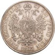 2 Vereinsthaler - Franz Joseph I -  reverse