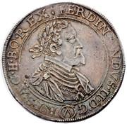 1 Thaler - Ferdinand II (Vienna) -  obverse