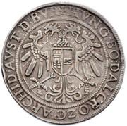 Thaler 3 Empereurs or DreiKaisertaler - Ferdinand I (Hall) -  reverse