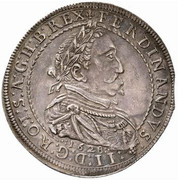 1 Thaler - Ferdinand II (Graz) -  obverse