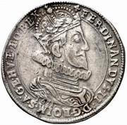 1 Thaler - Ferdinand II (Klagenfurt) -  obverse