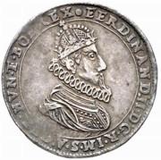 ½ Thaler - Ferdinand II (Klagenfurt) -  obverse