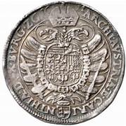 ½ Thaler - Ferdinand II (Klagenfurt) -  reverse