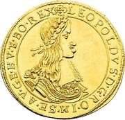 5 Ducat - Leopold I (Vienna) -  obverse
