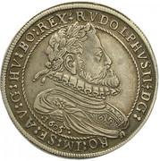 ¼ Thaler - Rudolf II (Hall) -  obverse