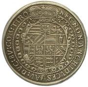 ¼ Thaler - Rudolf II (Hall) -  reverse
