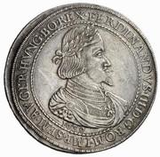3 Thaler - Ferdinand III (Graz) -  obverse
