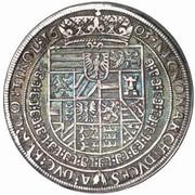 ½ Thaler - Rudolf II (Hall) -  reverse