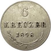 6 Kreuzer - Ferdinand I -  reverse