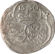 2 Pfennig - Ferdinand I (Graz for Krain or Carniola) – obverse