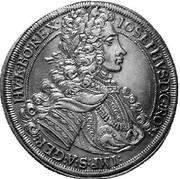1 Thaler - Joseph I (Graz) -  obverse