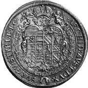 1 Thaler - Joseph I (Graz) -  reverse