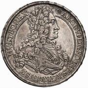 1 Thaler - Karl VI (Graz) -  obverse