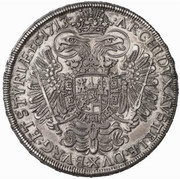 1 Thaler - Karl VI (Graz) -  reverse