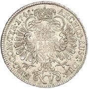 15 Kreuzer - Maria Theresia (Vienna) -  reverse