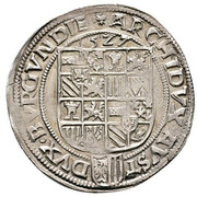 Pfunder - Ferdinand I (Linz) -  reverse