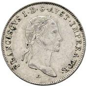 10 Kreuzer - Franz I -  obverse