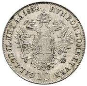 10 Kreuzer - Franz I -  reverse