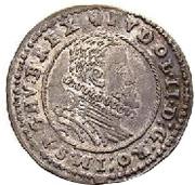 3 Kreuzer - Rudolf II (Vienna) -  obverse