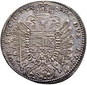 ½ Thaler - Ferdinand III (Vienna) -  reverse