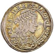 15 Kreuzer - Leopold I (Vienna?) -  obverse