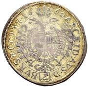 15 Kreuzer - Leopold I (Vienna?) -  reverse