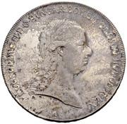 1 Thaler - Leopold II (Vienna) -  obverse